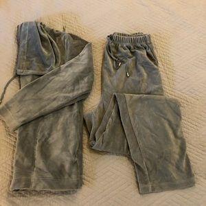 Soft grey sweat suit